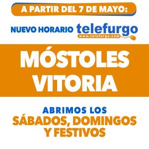Nuevo horario Telefurgo Móstoles y Vitoria